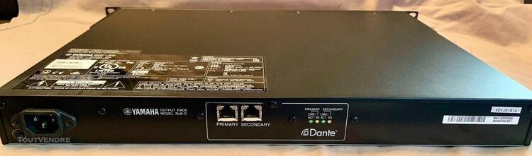 Yamaha ro8-d dante output rack
