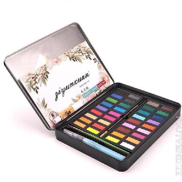 Colorcome® couleurs solide aquarelle artiste peinture