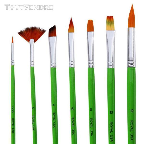 Colorcome® pinceau aquarelle d'artiste de cheveux