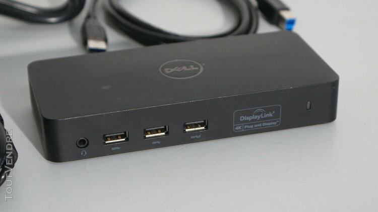 Dell d3100 usb station accueil universelle dock ordinateur p