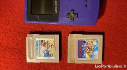 game boy color pocket bleu plus 2 jeux.