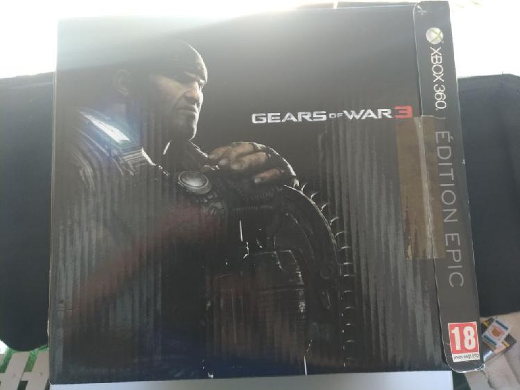 Gears of war 3 édition épic xbox360 neuf, chamalières
