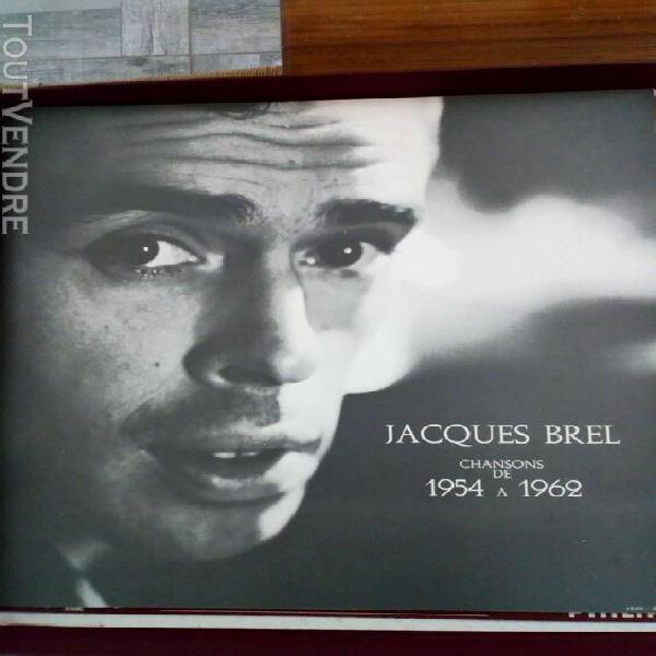 J.brel: coffret 5lp intégrale des chansons 1954 à 1962