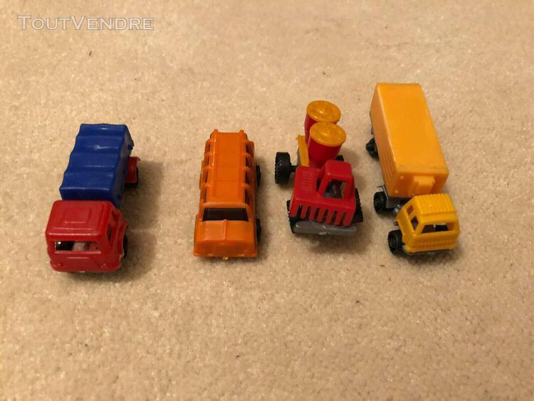 Kinder - année 70-80 - véhicules utilitaires
