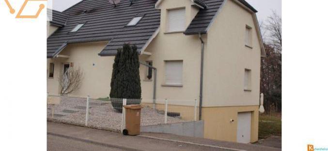 Maison jumelée type f5 à louer à rosenau