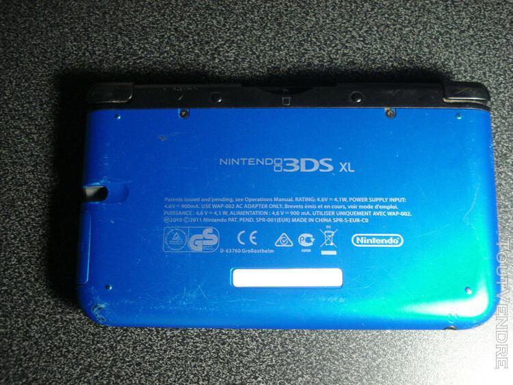 Nintendo 3ds xl - pour pièces