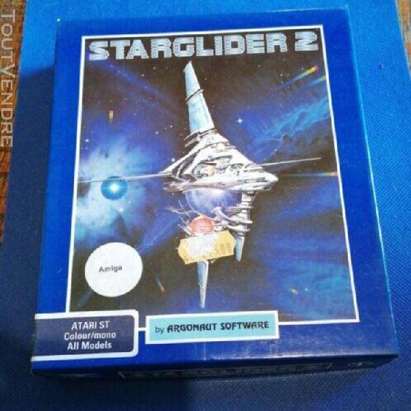 Rare jeu vidéo vintage - atari st amiga starglider 2