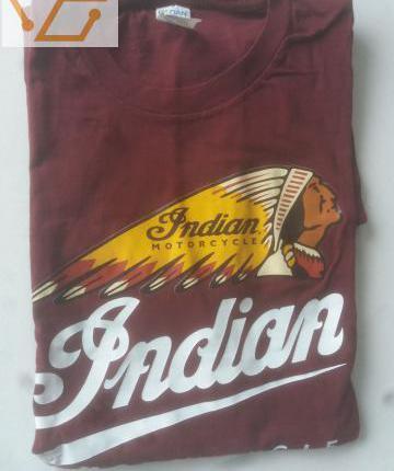 t,shirt indian motor logo tête chef indien o...