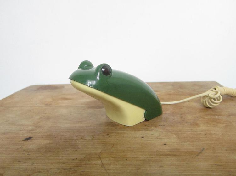 Téléphone grenouille les yeux s'allument unique/collector,