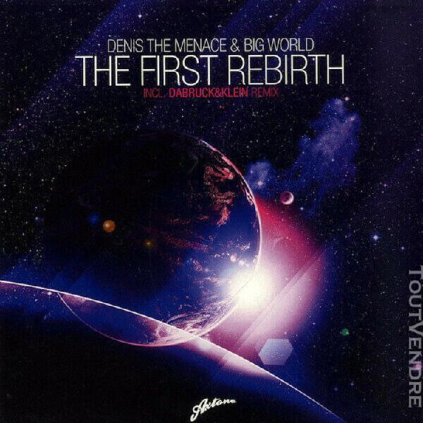 Vinyle denis the menace & big world - the first rebirth (axt