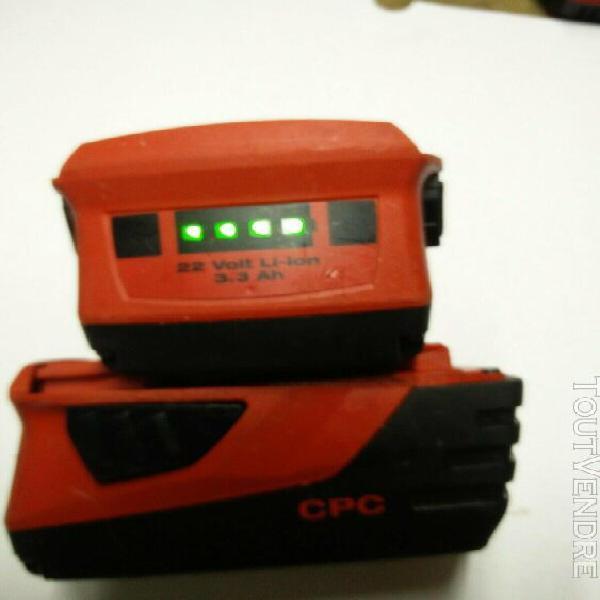 Batterie hilti li ion b 22 de 2019