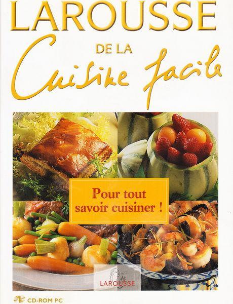 Cd pc larousse de la cuisine facile neuf, aubin (12110)