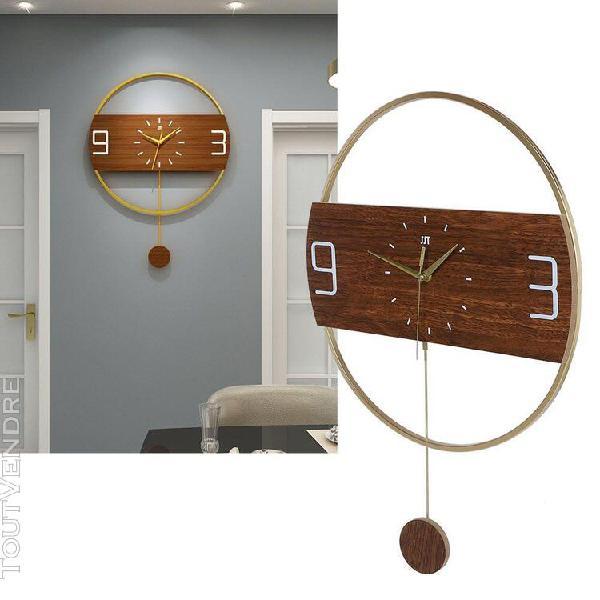 Horloge murale ronde innovante moderne pour les meubles de d