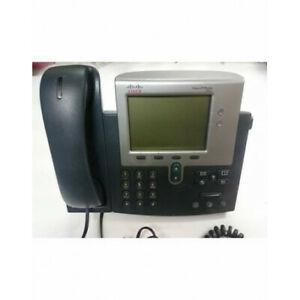 Téléphone filaire cisco ip phone 7941 - stock fr - exp 24h