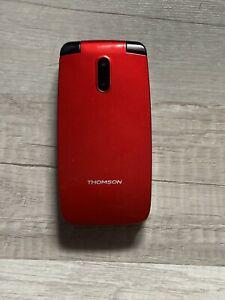 Téléphone mobile thomson serea 62 rouge