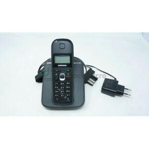 Téléphone sans fil avec base siemens as18h - stock fr -