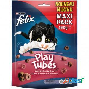 Felix play tubes dinde & jambon pour chats- 180g 5 x 180g