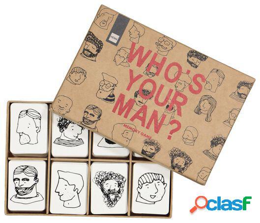 Hema jeu de mémoire - who's your man?
