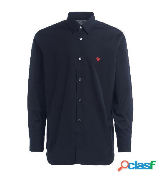 Chemise comme des garcons play de couleur noir