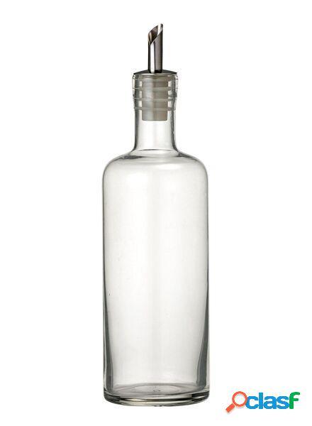 Hema bouteille huile/vinaigre (transparent)
