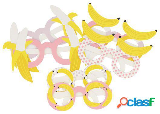 Hema 6 paires de lunettes de fête