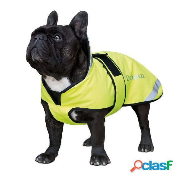 Manteau pour chien réfléchissant dogman 20-60 cm