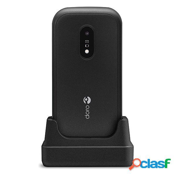 Téléphone portable doro 6040 avec couvercle noir