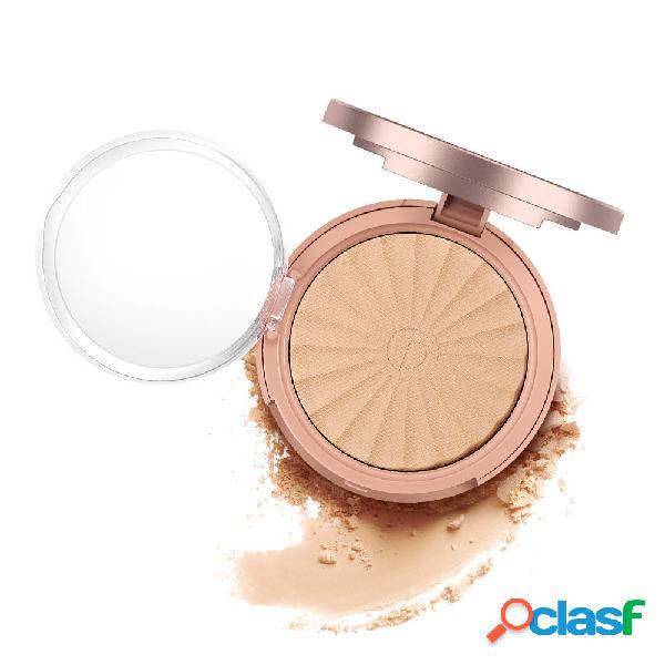 O.two.o fond de teint poudre pressée base maquillage éclaircissant pour le visage hydratant contrôle de l'huile correcteur prim