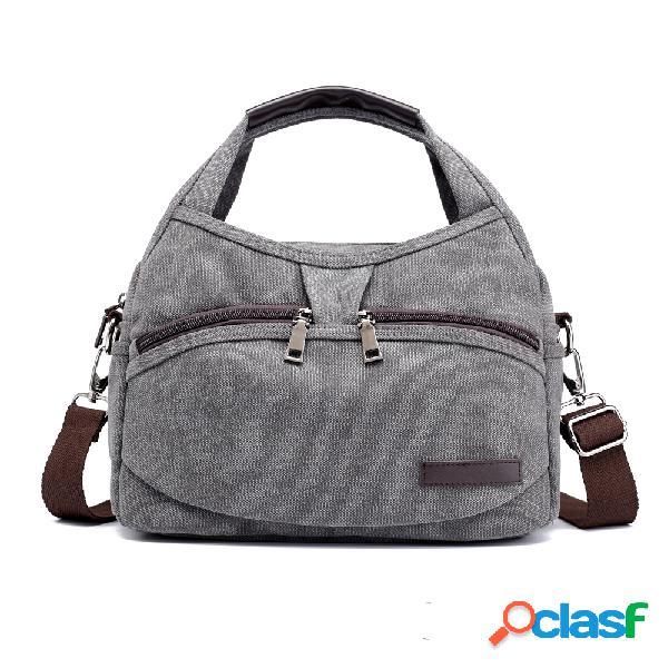 Kvky sacs à main poches avant sacs à bandoulière vintage sacs à provisions simples