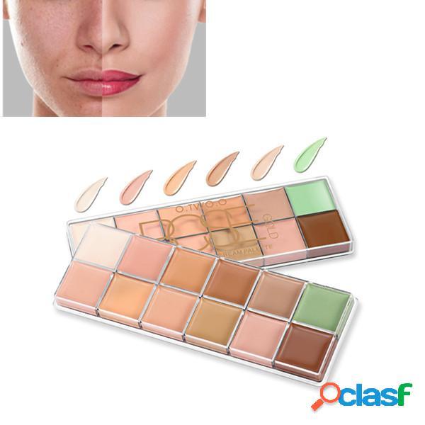 O.two.o 12 couleurs maquillage correcteur palette contour acné couverture crème longue durée anti-cernes imperméable