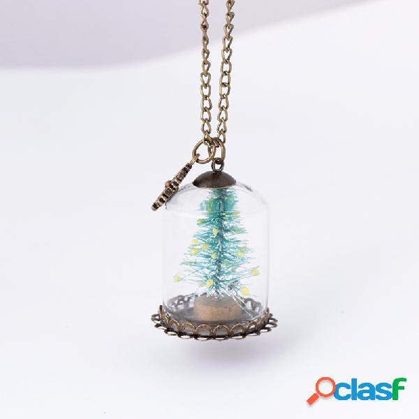 Collier de noël de la mode collier de verre à la main pour les hommes