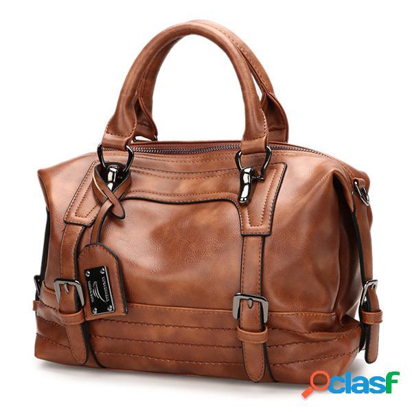 Sac à main boston vintage sac bandoulière sac porté épaule pour femme