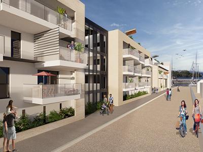 Appartement à vendre marseillan 4 pièces 98 m2 herault