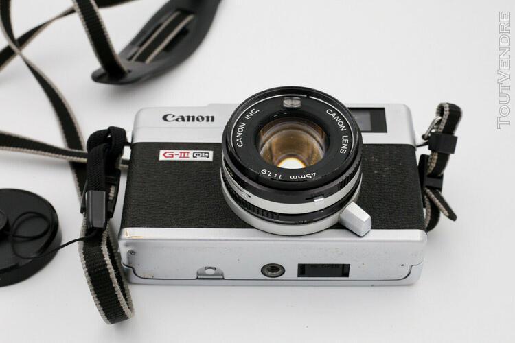 Canon canonet ql 19 giii et son étui - fonctionnel - bon