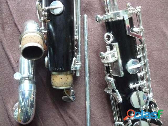 clarinette basse SELMER (en si bemol) descendant à l'ut grave