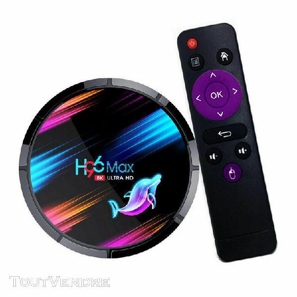 H96 max x3 8k box tv android 4gb+128gb