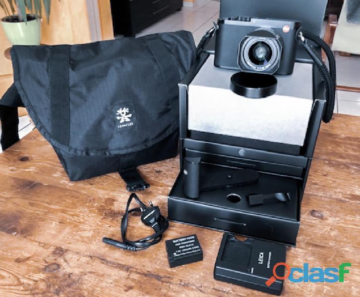 Leica Q en très bon état de fonctionnement complet avec boite et facture,