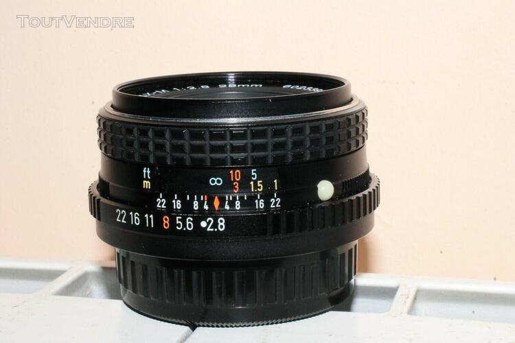 Smc pentax 28 mm 2,8 + filtre cokin 1a