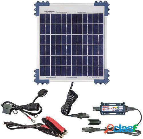 Optimate solar + panneau solaire 10w 12v/0,83a, chargeurs d'entretien pour la moto, tm522-1