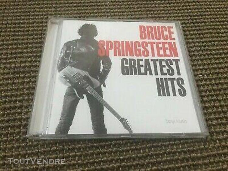 Album cd 18t bruce springsteen greatest hits (born usa/the r