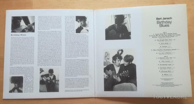Bert jansch birthday blues lp vinyl 33t reprise 1969 earmark