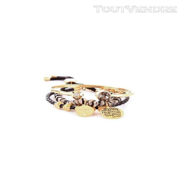 Guess femme jubs80061jwgold or métal bracelet