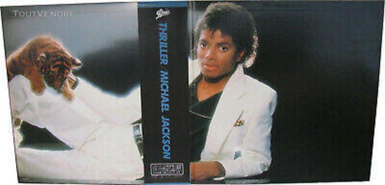 """Michael jackson thriller disque 33t 12"""" lp vinyl record albu"""