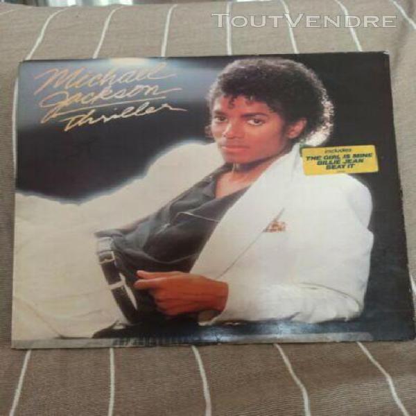 Michael jackson thriller vinyl album