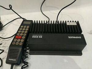 radio marine vhf pour bateau shipmate rs 8100 + combiné
