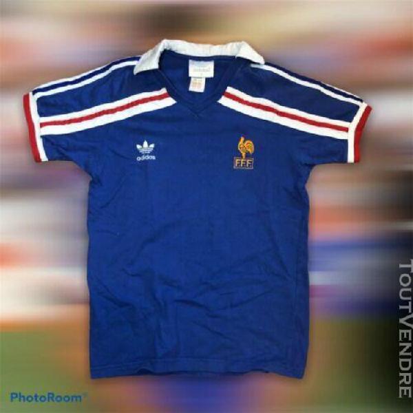 Rare equipe de france 1986 vintage adidas jersey