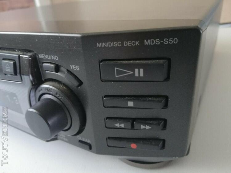 Sony minidisk md deck mds-s50
