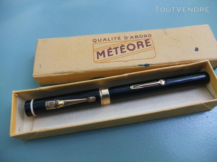 "Stylo plume ancien ""meteore"""