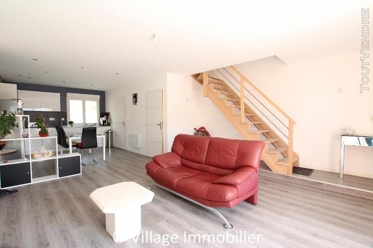 Exclusivité, appartement duplex 92.92 m², 3 ch, mions