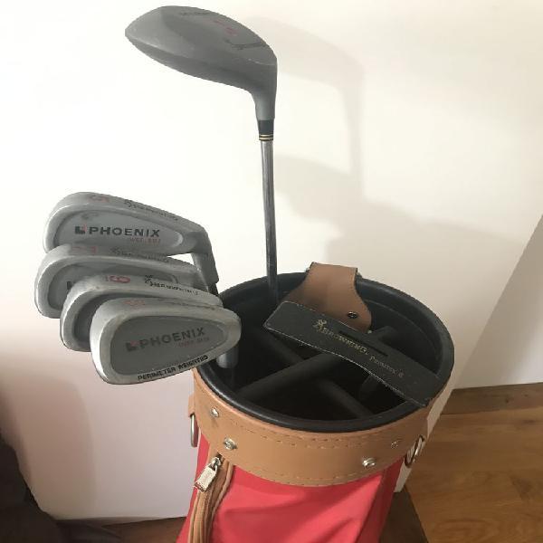 Kit de golf demi-série pour débutant + sac occasion, paris